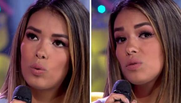 Shirley Arica confesó sentir vergüenza y cambiar de tema de conversación cuando su hija le consulta por 'ampays'. (Foto: Captura de América TV).