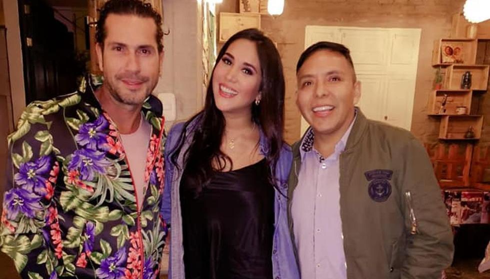El actor colombiano llegó a nuestro país para rodar una película. (Foto: Facebook Edwin Sierra)