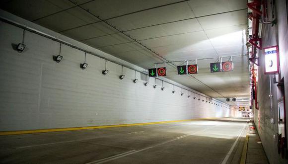 Callao: El túnel de la avenida Nestor Gambetta se reaperturó parcialmente (MTC)