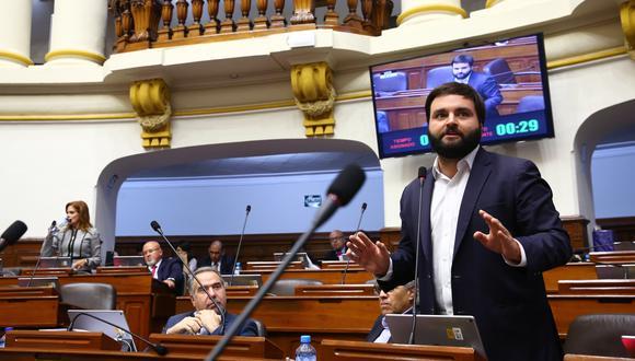 """""""Debemos tener en cuenta que ninguno de los 130 congresistas somos dueños del espacio público y la Plaza Bolívar es un espacio público"""", precisó De Belaunde.(Foto: Congreso)"""