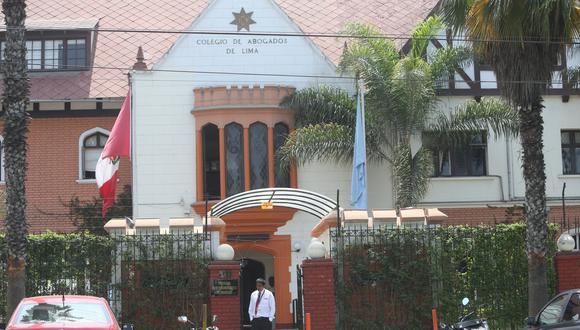 Colegio de Abogados de Lima (USI)