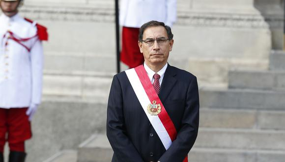 La situación de Martín Vizcarra se complica más tras las revelaciones de su reunión con las fiscales del caso Cuellos Blancos del Puerto. (Foto: Piero Vargas / GEC)