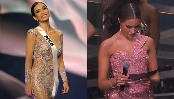 Miss Universo: Esta fue la reacción de Olivia Culpo al ver que Janick Maceta no seguía en competencia. (Foto: EFE/Captura)