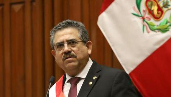 Manuel Merino respondió a críticas, luego de que se conociera que un sector de Acción Popular lo propuso como vocero de la bancada. (Foto: GEC)