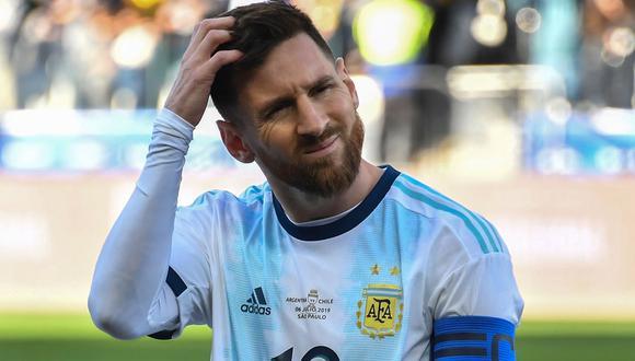 Argentina no jugará la Nations League, al menos no por el momento, señala la UEFA. (Foto: AFP)