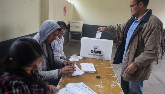 Ministerio de Trabajo otorga facilidades para miembros de mesa y electores. (El Comercio)