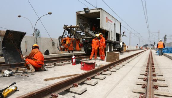 Solo el 10% del recorrido de la Línea 2 de Metro de Lima debe ser subterráneo, afirmaron los expertos. (Rafael Cornejo)