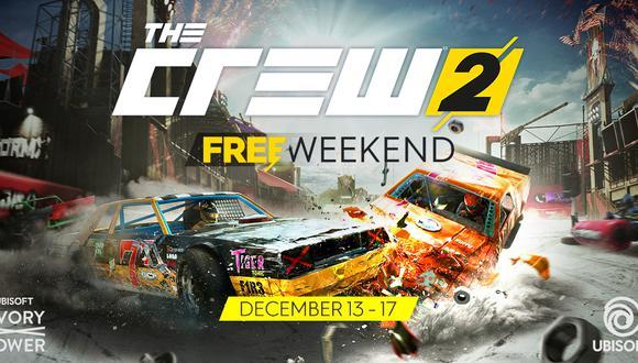 El exitoso título de carreras de Ubisoft, The Crew 2 , contará con un fin de semana gratuito.