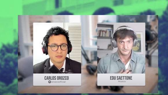 Carlos Orozco, el periodista, hizo un mea culpa de manera público mediante las redes sociales. (CapturaYouTube)