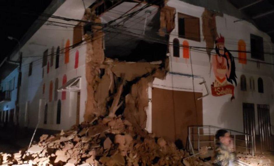 El sismo del 26 de mayo generó severos daños en infraestructuras. (Foto: COEN)