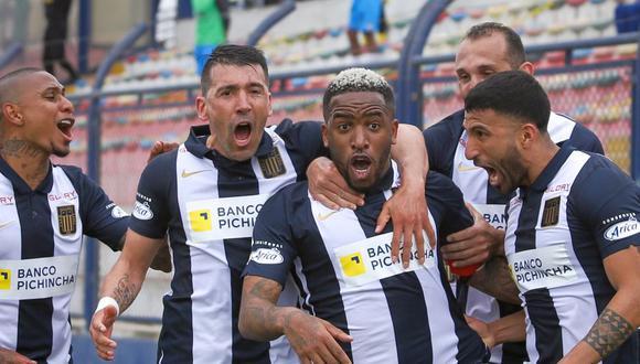 Jefferson Farfán tiene tres goles con camiseta de Alianza Lima el 2021. (Foto: Fernando Sangama / GEC)