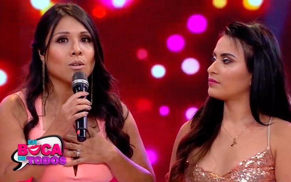 Tula Rodríguez se disculpó con Thamara Gómez tras el accidente que sufrió la cantante en el set de 'En boca de todos'