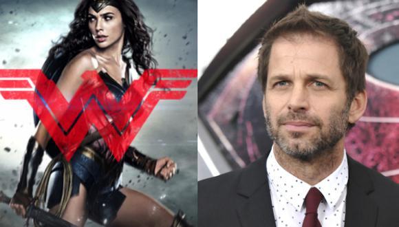 Wonder Woman: Zack Snyder hizó un cameo en la película (Composición)