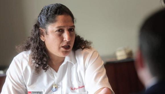 """Ministra Fabiola Muñoz consideró que """"hay un fracaso en el tema de sentarse a dialogar"""" (Foto: Minagri)"""