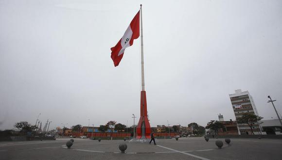 Municipalidad de Pueblo Libre dispuso el embanderamiento general de todos los inmuebles. (Foto: Archivo GEC)