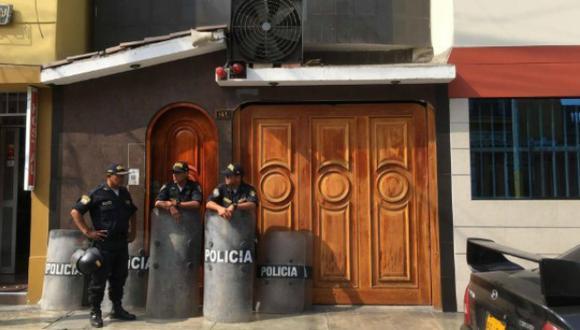 PNP realizó megaoperativo policial y capturó a técnico FAP.