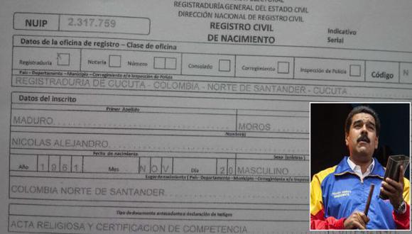 Periodista Patricia Poleo difundió partida de Maduro en Twitter. (@PattyPoleo/EFE)