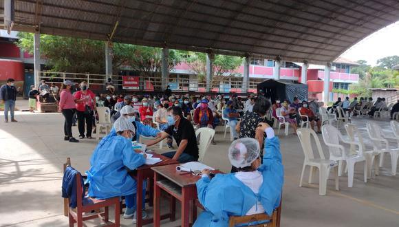 Los mayores a partir de 19 años serán inoculados este fin de semana en la denominada 'Vacunatón de la esperanza' en la región Ucayali. (Foto: Diresa Ucayali)