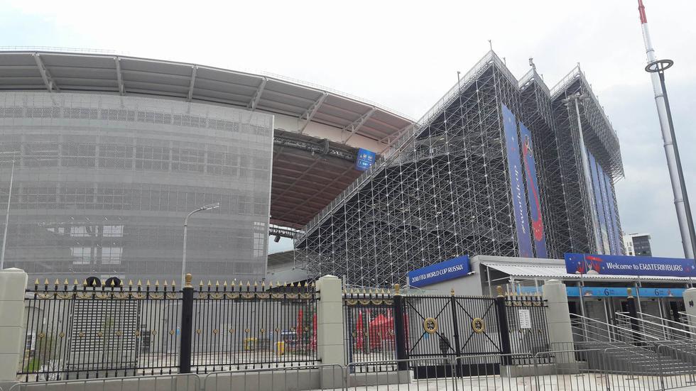 Ekaterimburgo Arena. (Alfredo Luna)