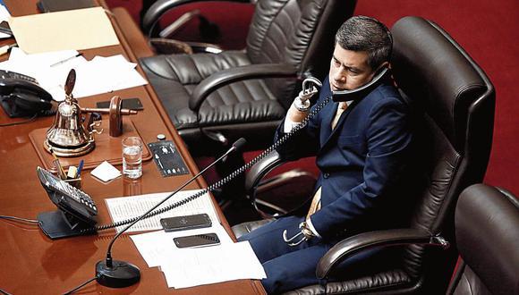POSTURA. Luis Galarreta califica de ilegítimo que la Corte IDH intervenga en asuntos internos. (CésarCampos/Perú21)