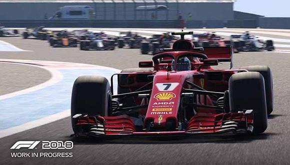 F1 2018 hará sentir la adrenalina y velocidad a todos los amantes a los títulos de carreras.
