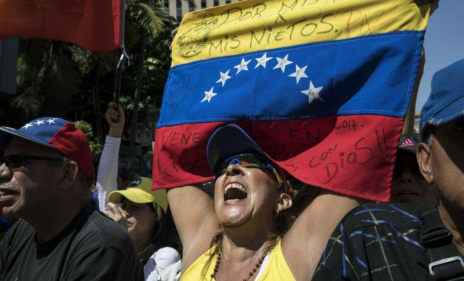 El Grupo de Lima ya se manifestó a favor de Guaidó. (Foto: AP)