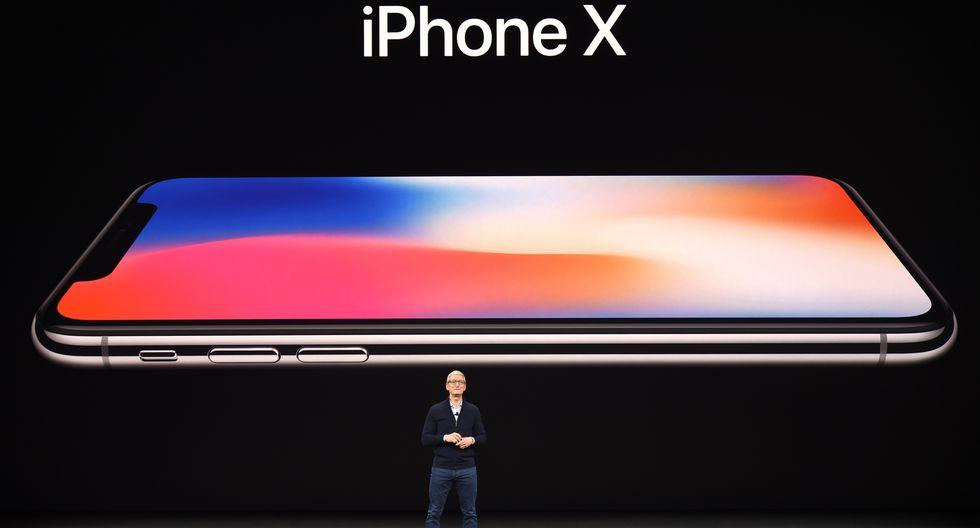 ¿Qué es el iPhone X y cuáles son sus características? (AFP)