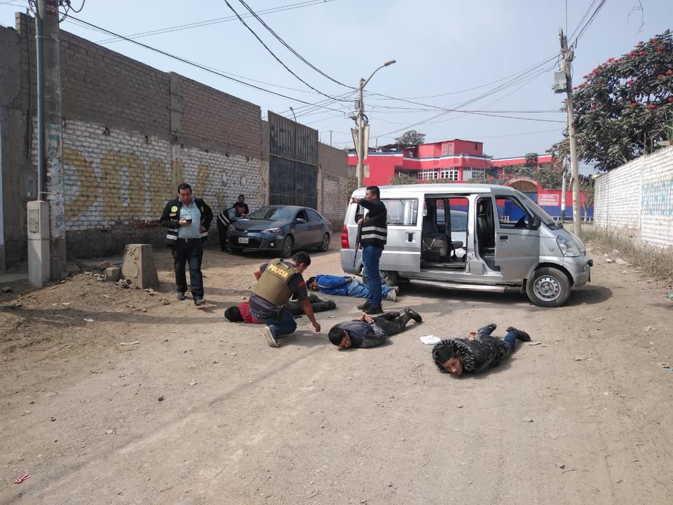 La captura se produjo por inmediaciones de la Asociación Vivienda Casa Huerta, en Puente Piedra. (PNP)