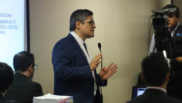 José Domingo Pérez pide suspender por dos años y medio la actividad política de Fuerza Popular. (Foto: GEC)