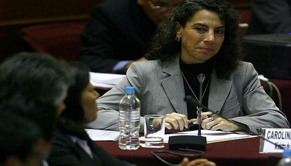 La ministra Trivelli acudió al Congreso. (Perú21)
