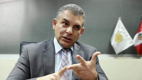 El fiscal Rafael Vela subrayó que las decisiones judiciales se tienen que respetar. (Foto: Juan Ponce /GEC)