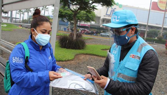 Se entregarán 6.000 kits de prevención contra el COVID-19 a usuarios del transporte público de Lima y Callao. (Foto: ATU)