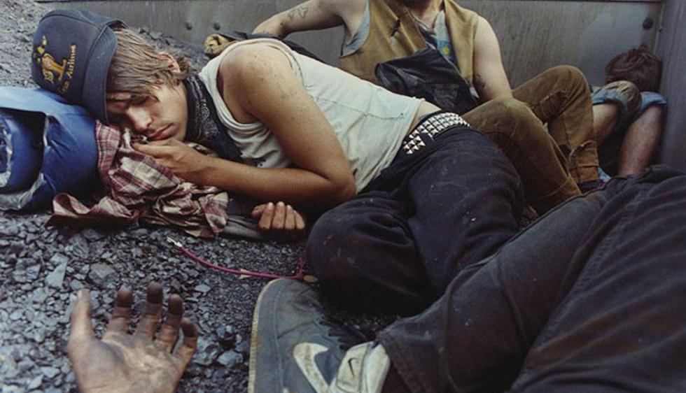 El fotógrafo Mike Brodie retrató durante cuatro años a los jóvenes vagabundos. (Mikebrodie.net)