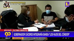 Detienen a gobernador regional de Arequipa por integrar presunta organización criminal