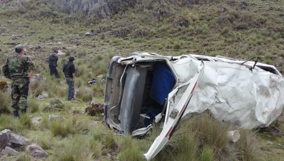 La unidad se despistó en carretera entre las localidades de Quillabamba y Yupanca. (USI/Referencial)