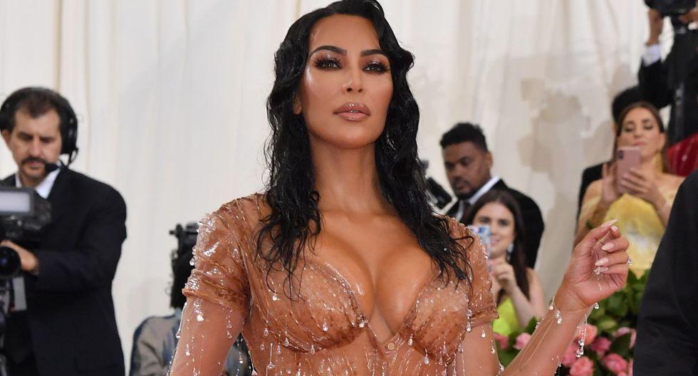 La modelo Kim Kardashian abogó por la liberación de A$AP Rocky. (Foto: AFP)