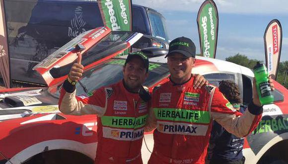 Nicolás Fuchs cerró el Dakar 2017 con una gran etapa doce, donde aguantó el ataque de Mikko Hirvonen para mantener el puesto 12