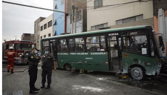 Un muerto y cuatro heridos dejó accidente de tránsito registrado esta tarde en Cercado de Lima. (Foto: Joel Alonzo/@photo.gec)