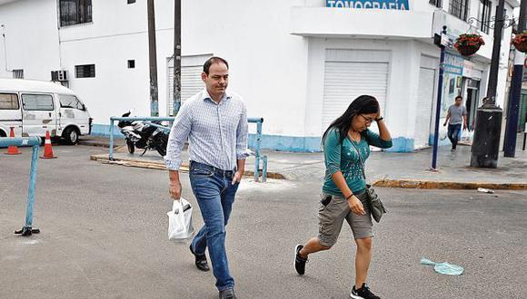 Mark Vito visita a su esposa desde hace casi cuatro meses. (Perú21)