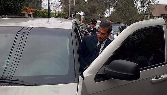 Ollanta Humala expresó su pesar. (RPP)