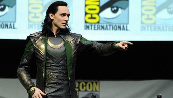'Loki' estuvo presente en presentación de Marvel en Comic-Con. (AFP)