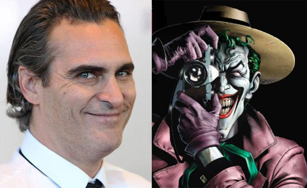 Warner Bros.: Joaquin Phoenix estaría en negociaciones para interpretar al 'Joker'