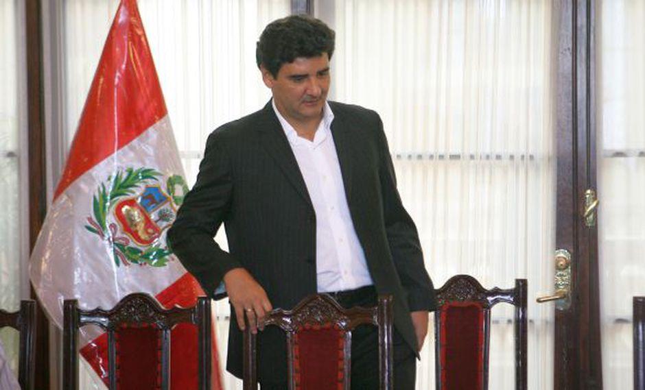 Escudero. Eduardo Zegarra salió en defensa de la alcaldesa. (USI)