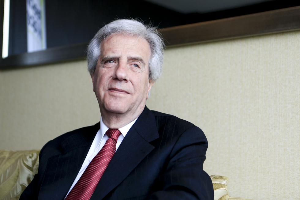 Tabaré Vásquez informó que se le negó el asilo diplomático a Alan García. (El Comercio)