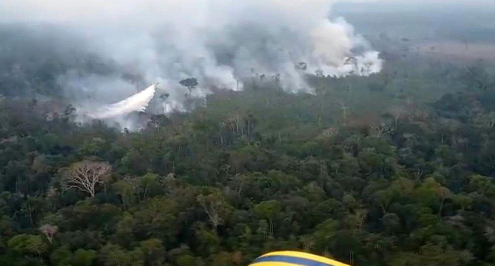 Hijo de Bolsonaro espera reunirse con Donald Trump en la Casa Blanca para tratar el tema de los incendios en la Amazonía. (Foto: AFP)