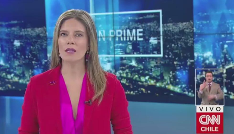 Periodista chilena de CNN (Facebook: @cnnchile)