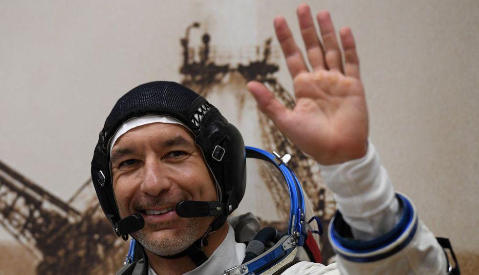 En la imagen, el italiano Luca Parmitano. (Foto: AFP)