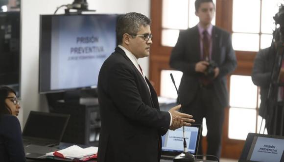 Fiscal expone los motivos para que imputados cumplan 36 meses de prisión preventiva. (César Campos/USI)