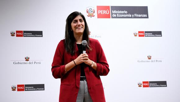 Ministra de Economía, María Antonieta Alva, no fue censurada por el Congreso (GEC).