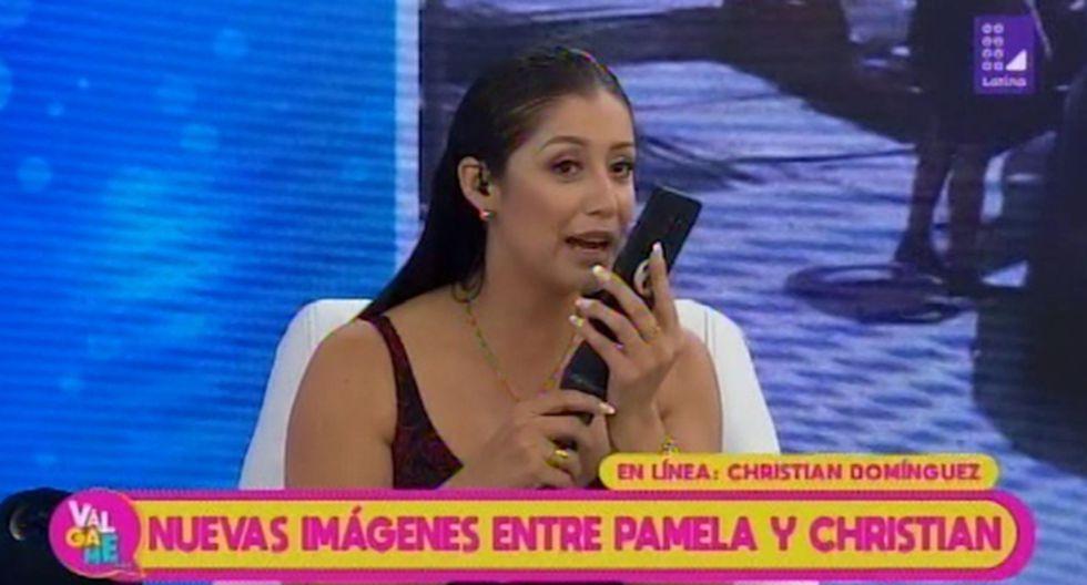 Christian Domínguez habló de su viaje a Chimbote junto a Pamela Franco. (Imagen: Latina)